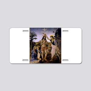 The Baptism of Christ Aluminum License Plate